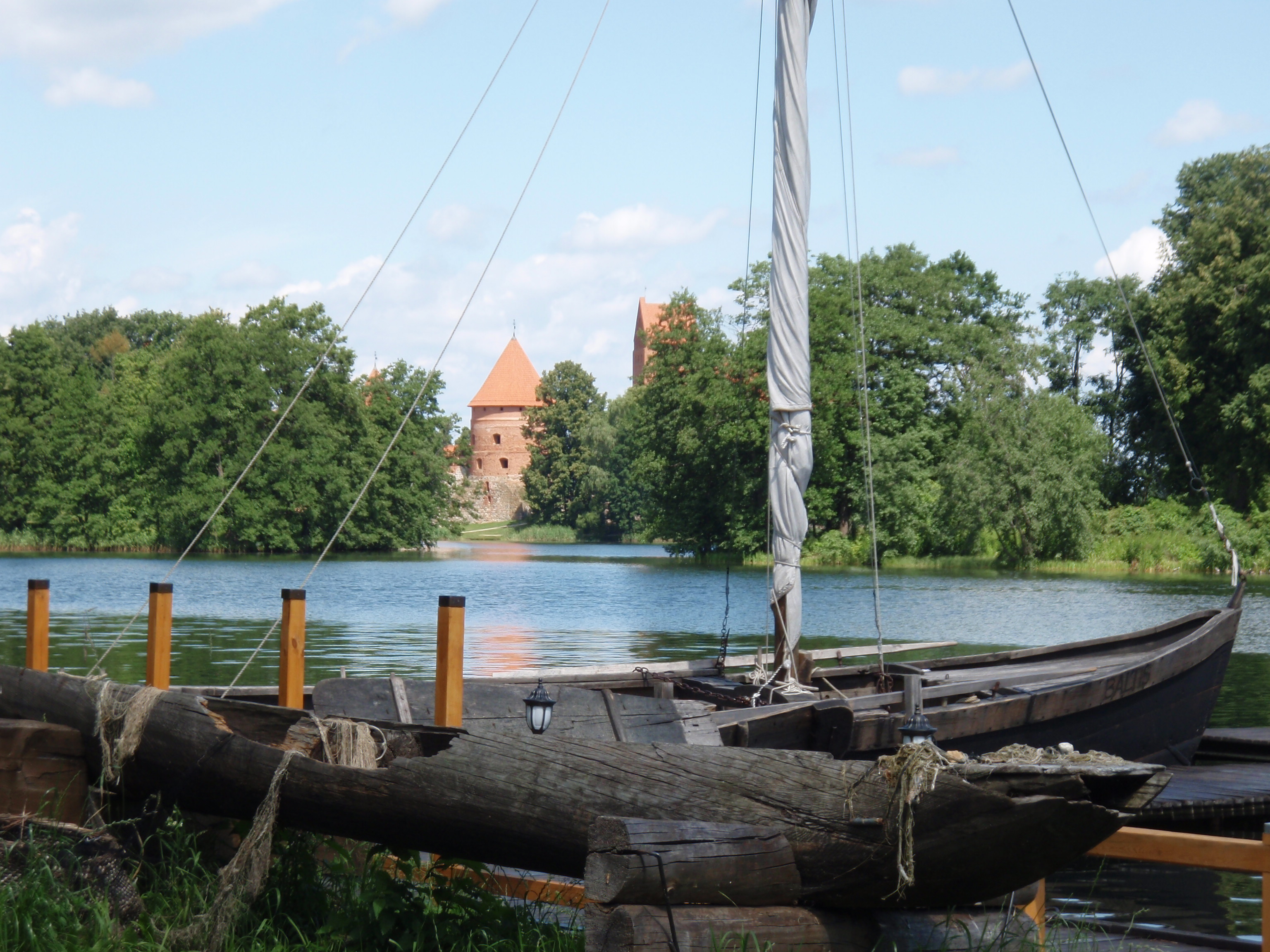 Castle and boat...