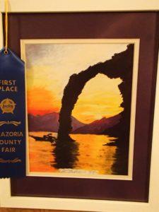 Sunset Arch- won 1st prize