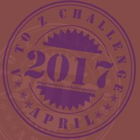 2017 #AtoZChallenge badge