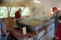 Sorghum cook shed