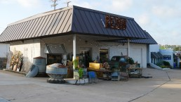 Across from the Roper, this was McLean's (Martin McLean) Grocery for many years and was an automotive repair when Gil was a youngster.