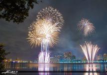 West Palm Beach Fireworks Years Beautiful Display