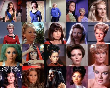 Las chicas de la serie original de Star Trek  (1/6)