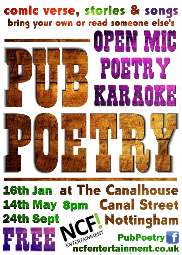 Pub Poetry - Open Mic Comic Lit