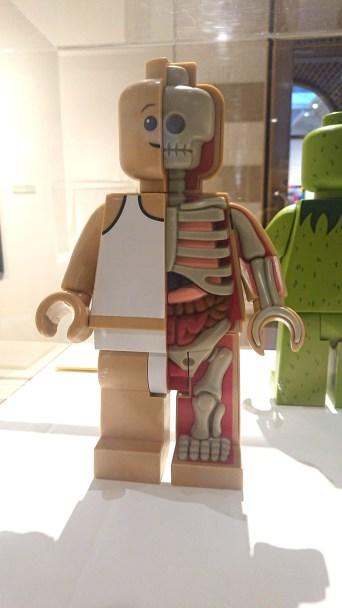 Jason Freeney's anatomical minifigure
