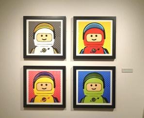 LEGO pop art