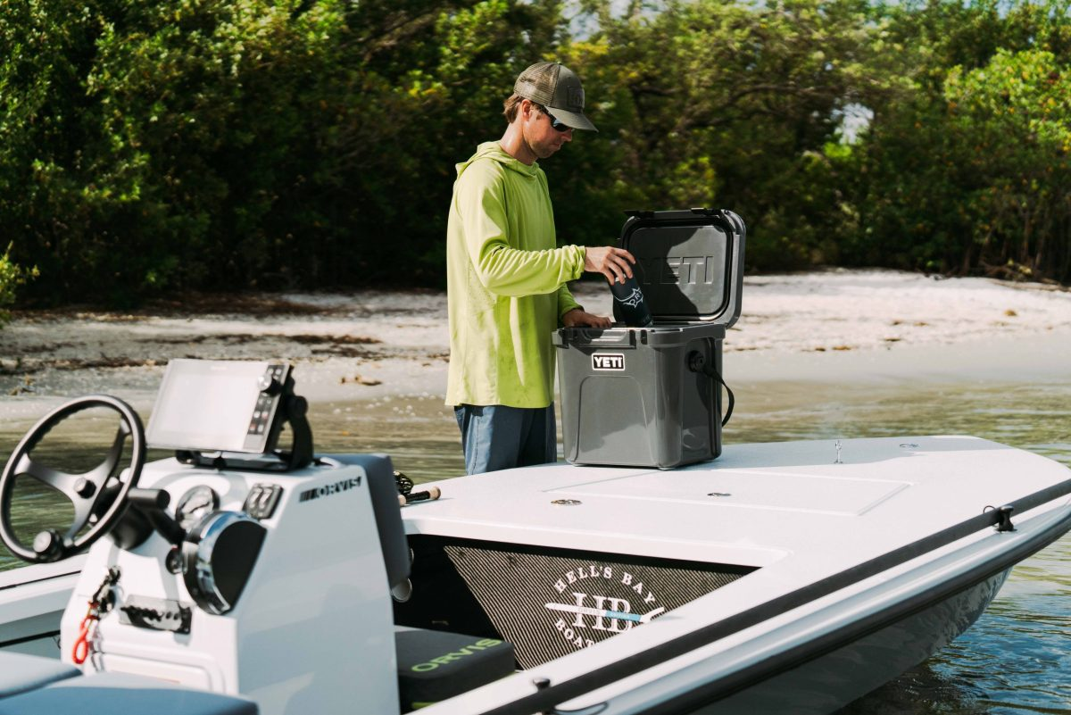Orvis Edition Professional Product Yeti Roadie Charcoal-10