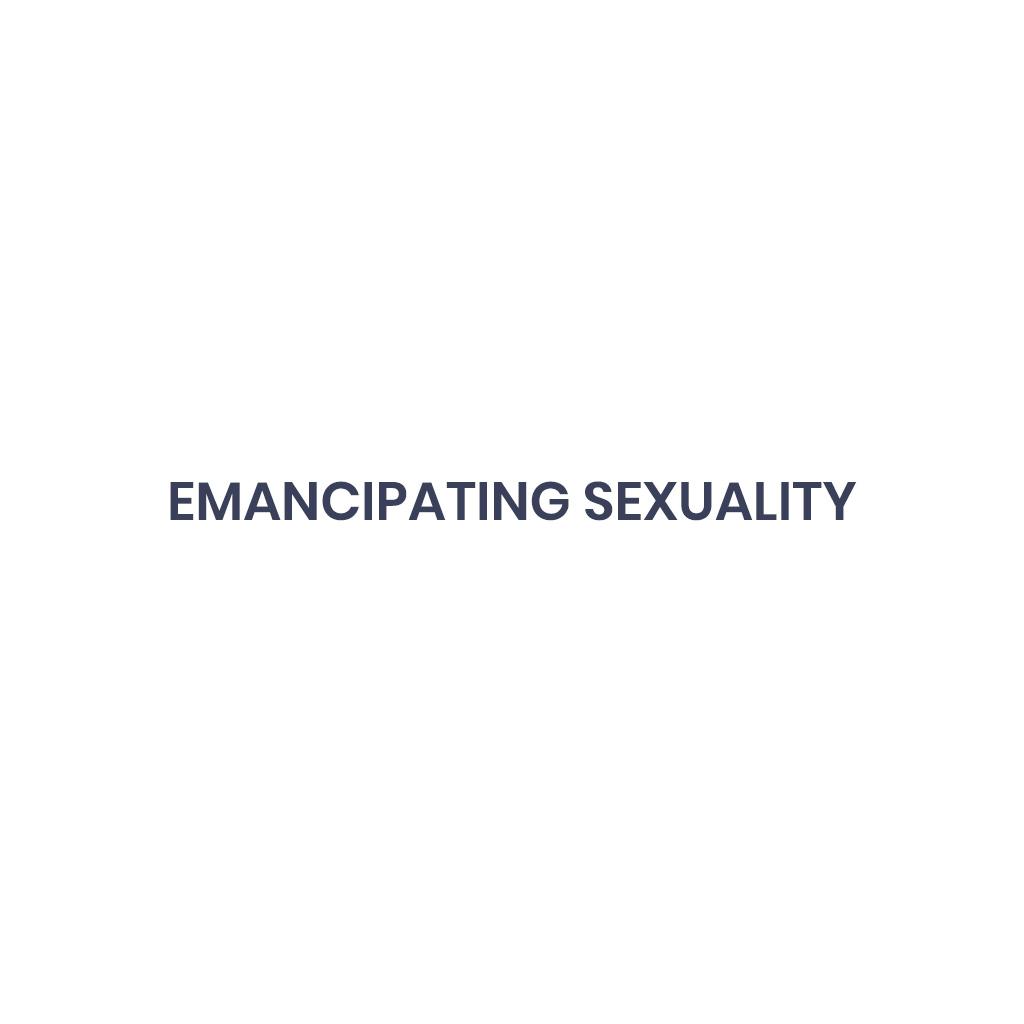 Emancipating Sexuality Liam Snowdon
