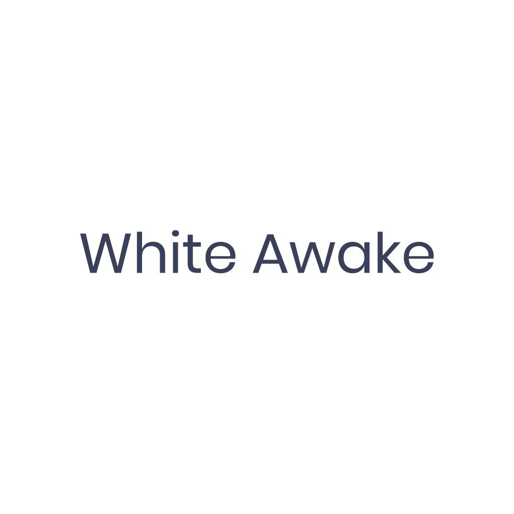 White Awake Captain Snowdon