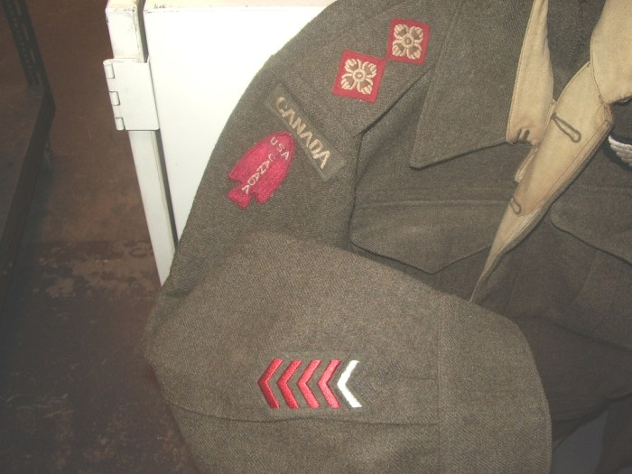 First Special Service Force uniforms. I am especially looking for those worn by Canadian members, ideally with a name so that I can research it.