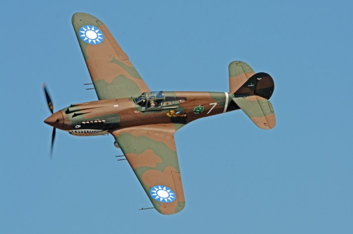 Curtis P-40C Photo by Colin MacGregor Stevens, Tomahawk 2013-08-31 Vintage Aircraft