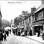 Brechin circa 1905 High St post card