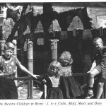 Stevens children in Rome near the Foro Romano 1961-1962