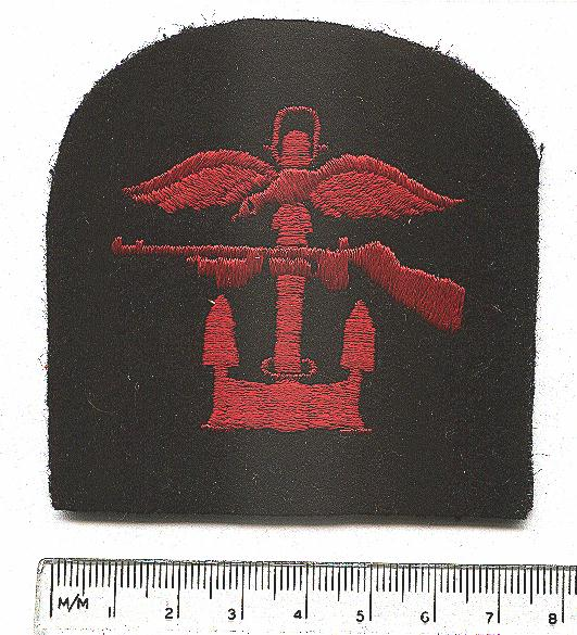 Lt AH Stevens 1943 CO Patch as issued JPEG