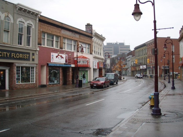 The same scene in November 2006 St. Catharines