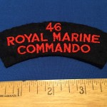 46 Royal Marine Commando - front