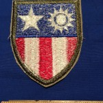China-Burma-India CBI patch - back