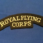 ROYAL FLYING CORPS shoulder title. REPRODUCTION