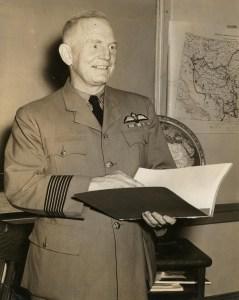 Group Captain Francis Vernon HEAKES, Royal Canadian Air Force, circa 1942