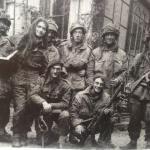 British Airborne snipers Arnhem Sept 1944 - photo found in a chimney.
