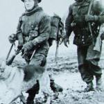 Sniper and dog handler late 1944 no details via Dean Bryan