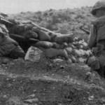 US sniper Boitnott with M1C in Korea (boitnottkorea1rtub4-1)