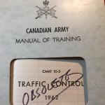 Canadian Army Traffic Control 1962. Provost Corps.