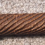 US Korean War Swagger stick weapon with .30/06 tip. From Dr. Bill Windrum Collection.