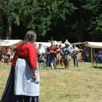 Fort Nisqually Brigade Days 2016 AUG (30) - Where is dat man 'o mine. I whup his ass good for leaving me with no money!""