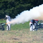 # 744 Small Union cannon firing.