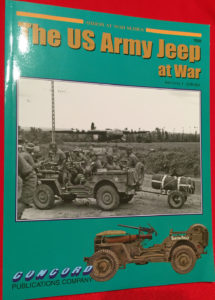 US ARMY JEEP AT WAR