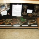 Case 13 Bottom - Seaforth Museum in 2008. Bugles etc.
