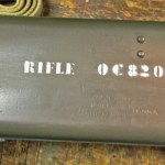 Early No. 8 MK. I scope case numbered to rifle and scope.