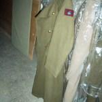 Greatcoat of Major General Bert Hoffmesiter.