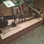 Seaforth Museum - Projector Infantry Anti-Tank. Smokey Smith use one along with a Thompson SMG to win his Victoria Cross.
