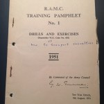 Manual RAMC How to transport c asualties 1951
