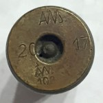 Becker Type M20 20mm cannon shell casing German 1917 - headstamp