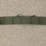 Canadian Pattern 1951 web belt LARGE - Back