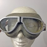 Canadian Army driver's goggles - WWII & Korean War - front