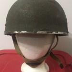 British Airborne Helmet MK II 1944 found in Scotland - front