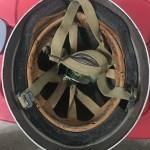 British Airborne Helmet MK II 1944 found in Scotland - insides