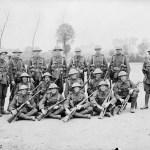 Scouts & Snipers 2 Bn CEF July 1916 (CEF picture O.309 L&AC MIKAN 3405890)