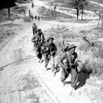 Canadian snipers advance to Melfa 23 May 1944