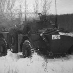 54-82572 LdSH Driver Training towing stuck Ferret out in snow