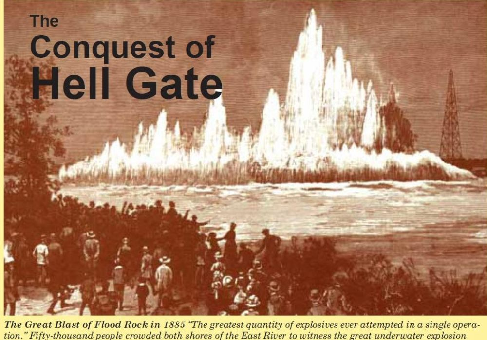 New York City's East River and Hell Gate  (2/6)