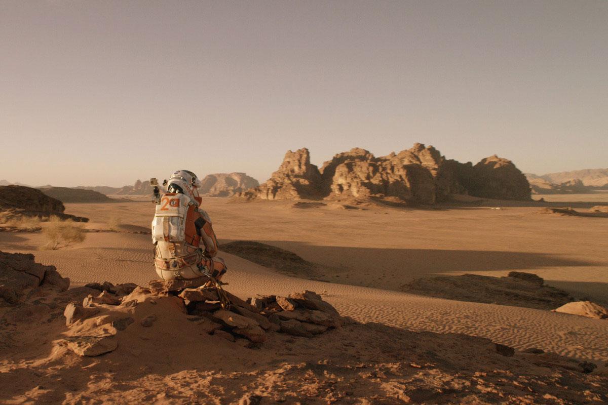 Matt Damon, seul sur Mars
