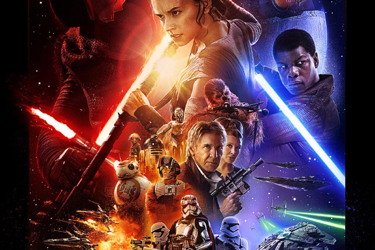 Affiche du film Star Wars VII : Le Réveil de la Force