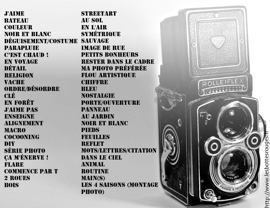 Liste de thèmes sélectionnés pour mon projet 52