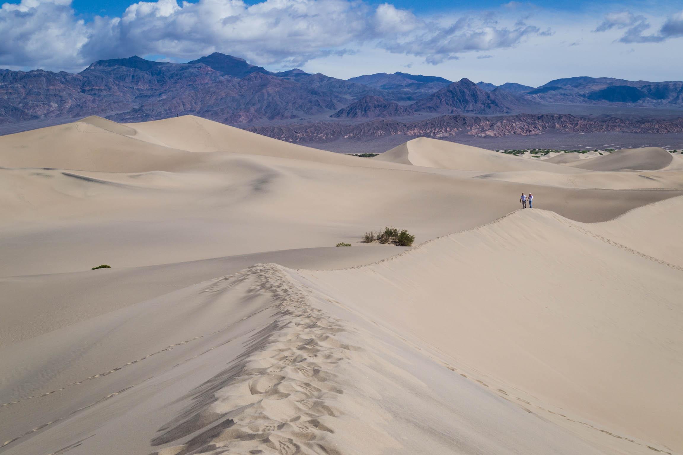 Les Sand Dunes de la Vallée de la Mort