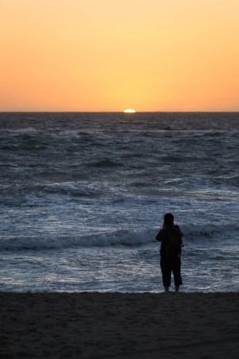 Coucher de Soleil à Santa Monica